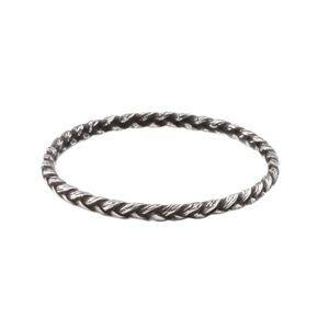 Katrina Lapenne Silver Braid Ring